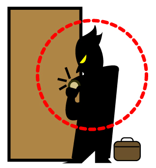 侵入窃盗(空き巣・居抜き)の現状